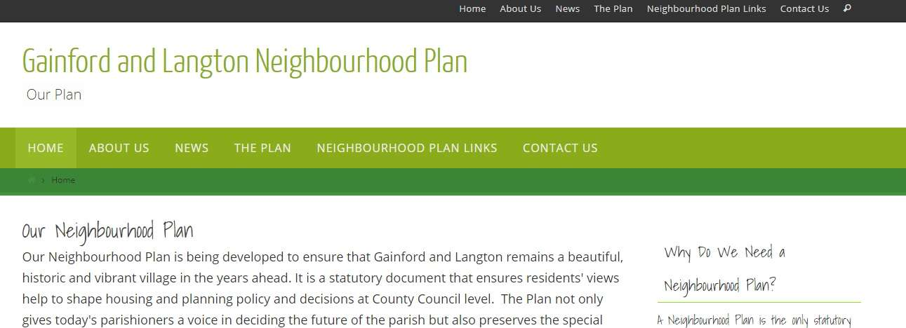 Parish Council and Neighbourhood Plans