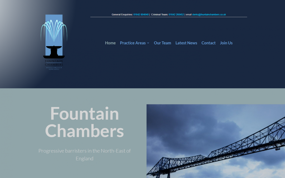 Fountain Chambers Middlesbrough and Newcastle