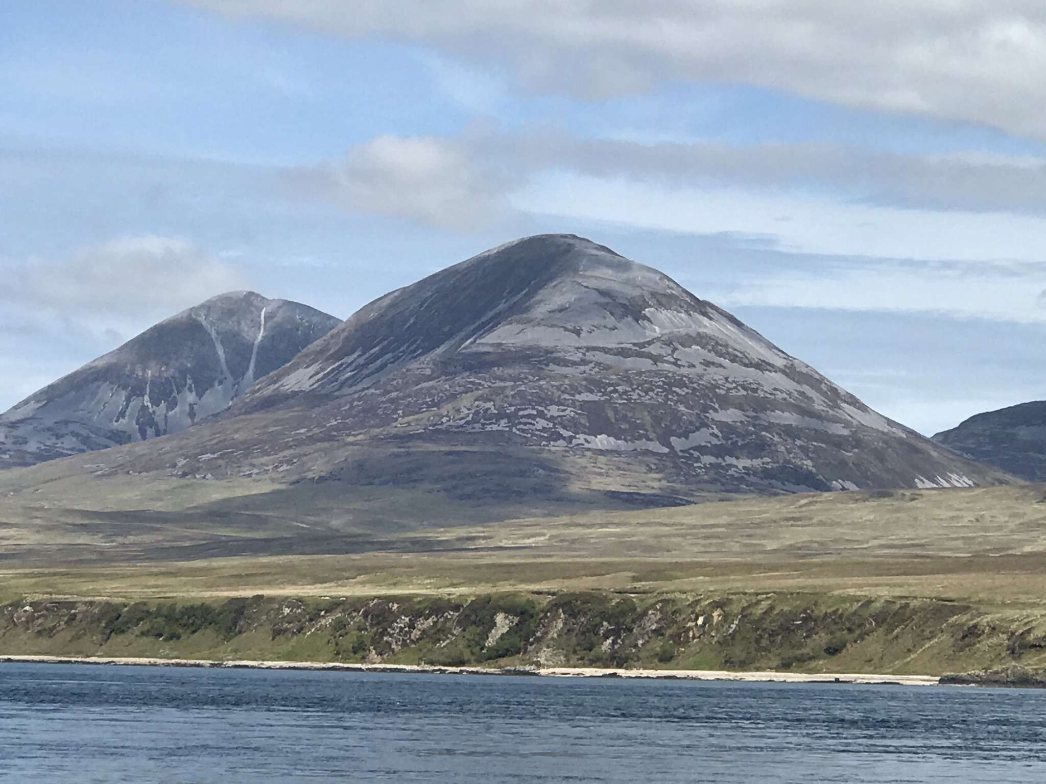 Paps of Jura looking from Isle of Islay