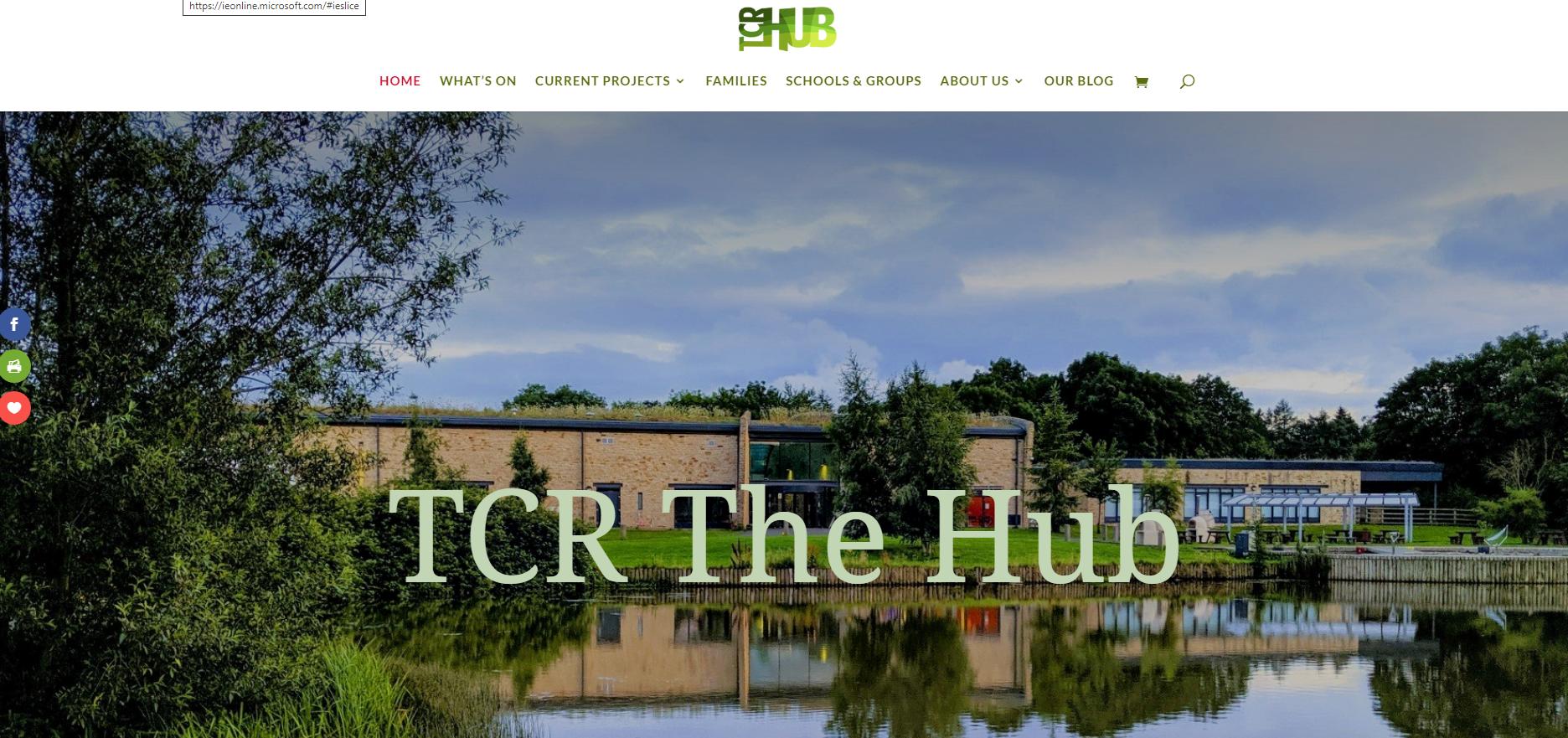 TCR Hub website Barnard Castle community venue