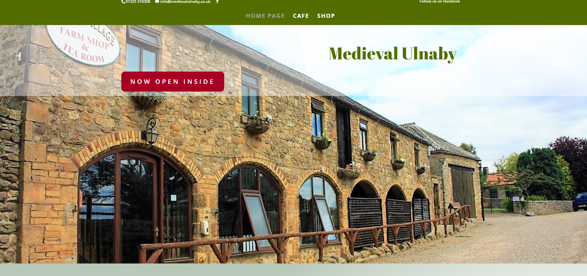 Ulnaby Farm Home Page